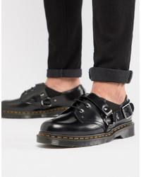 Scarpe derby in pelle nere di Dr. Martens