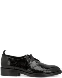 Scarpe derby in pelle nere di Golden Goose Deluxe Brand