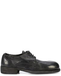 Scarpe derby in pelle nere di Guidi