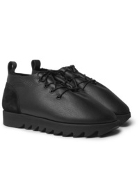 Scarpe derby in pelle nere di Hender Scheme
