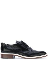 Scarpe derby in pelle nere di Lanvin