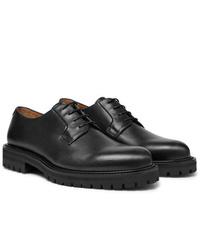 Scarpe derby in pelle nere di Mr P.