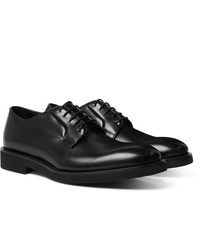 Scarpe derby in pelle nere di Paul Smith
