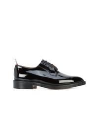 Scarpe derby in pelle nere di Thom Browne