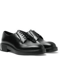 Scarpe derby in pelle nere di Valentino