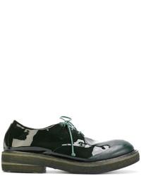 Scarpe derby in pelle verde scuro di Marsèll