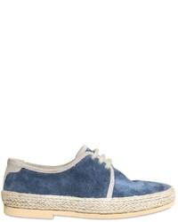 Scarpe oxford blu