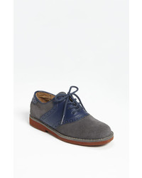 Scarpe oxford blu scuro
