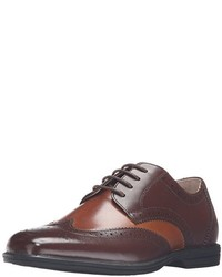 Scarpe oxford in pelle marroni