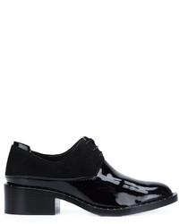 Scarpe oxford in pelle nere di 3.1 Phillip Lim