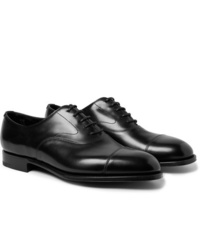 Scarpe oxford in pelle nere di Edward Green