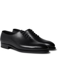 Scarpe oxford in pelle nere di J.M. Weston