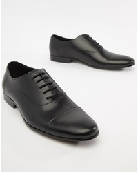 Scarpe oxford in pelle nere di Office
