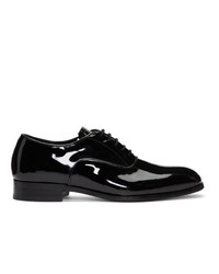 Scarpe oxford in pelle nere di Tiger of Sweden
