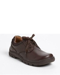 Scarpe oxford marrone scuro