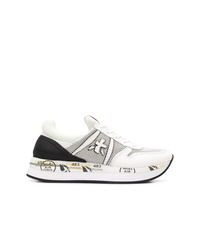 Scarpe sportive bianche e nere di White Premiata