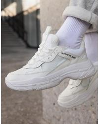 Scarpe sportive bianche di Calvin Klein