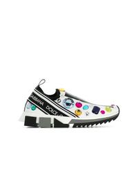 Scarpe sportive bianche di Dolce & Gabbana