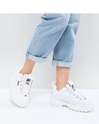 Scarpe sportive bianche di Fila