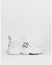 Scarpe sportive bianche di New Balance