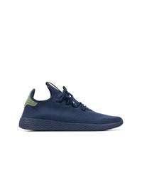 Scarpe sportive blu scuro di Adidas By Pharrell Williams