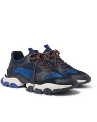 Scarpe sportive blu scuro di Moncler
