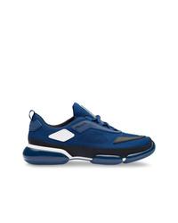 Scarpe sportive blu scuro di Prada