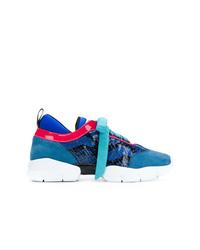 Scarpe sportive blu di Emilio Pucci