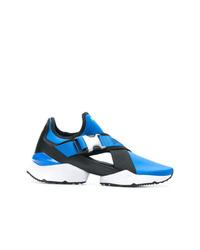 Scarpe sportive blu di Puma