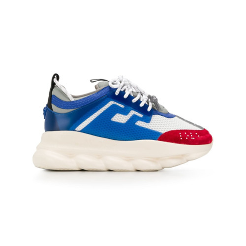 €905, Scarpe sportive blu di Versace