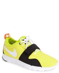 Scarpe sportive gialle