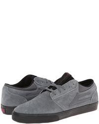 Scarpe sportive in pelle scamosciata grigie