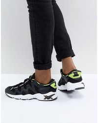 Scarpe sportive nere e bianche di Asics