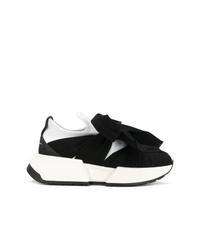 Scarpe sportive nere e bianche di MM6 MAISON MARGIELA
