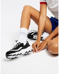 Scarpe sportive nere e bianche di Skechers