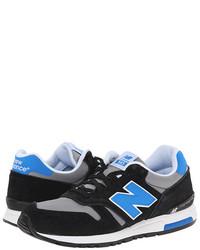 Scarpe sportive nere e blu