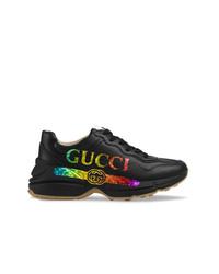 Scarpe sportive nere di Gucci