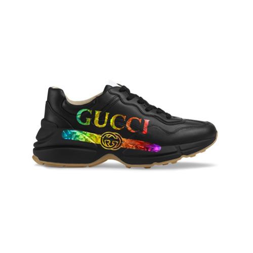 new concept a29c0 50290 Scarpe sportive nere di Gucci