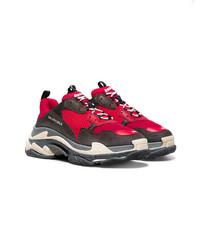 ... Scarpe sportive rosse e nere di Balenciaga ... cebe3e5e3c8