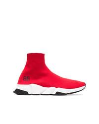 a6c1c775dd266 Scarpe sportive rosse da uomo di Balenciaga