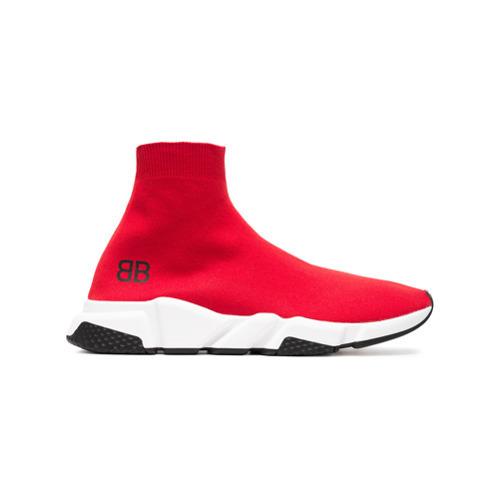 c9c1f85fd3121 ... Scarpe sportive rosse di Balenciaga ...