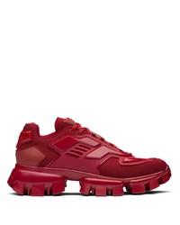 Scarpe sportive rosse di Prada