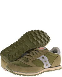 Scarpe sportive verde oliva