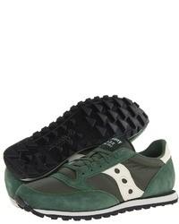 Scarpe sportive verde scuro