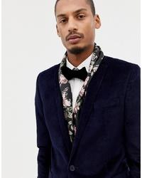Sciarpa a fiori nera di Twisted Tailor