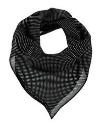 Sciarpa a pois nera di Ralph Lauren
