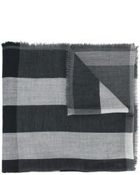 Sciarpa a quadri grigio scuro di Burberry