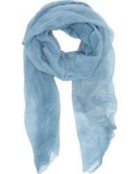 l'atteggiamento migliore 0cc51 4b35e Come indossare e abbinare una sciarpa azzurra (18 foto ...