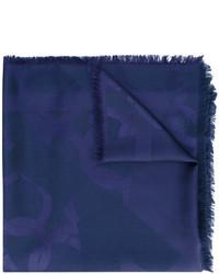 Sciarpa blu scuro di Salvatore Ferragamo