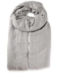Sciarpa di cotone grigia di Faliero Sarti